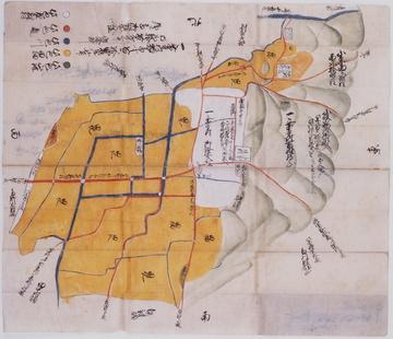 おもて:絵地図:一乗寺