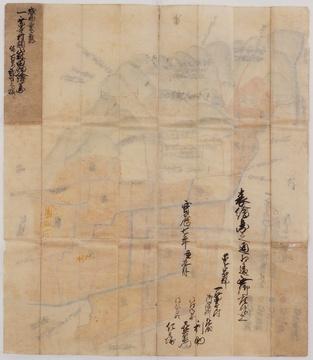 うら:絵地図:一乗寺